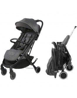 Evezo Channy Lightweight Roll N Go Folding Travel Stroller