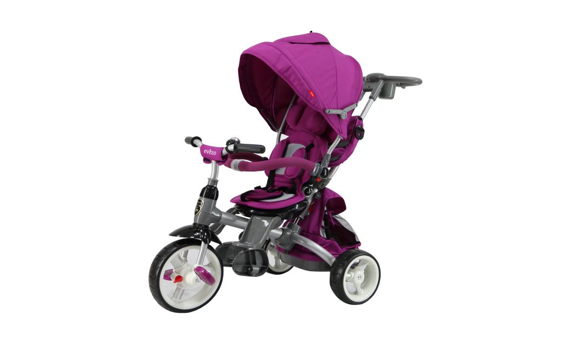 Prams – Evezo Samzio 4-in-1 Stroller and Trike (Purple)
