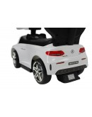 Evezo Mercedes AMG C63 Ride-On Push Car with Canopy